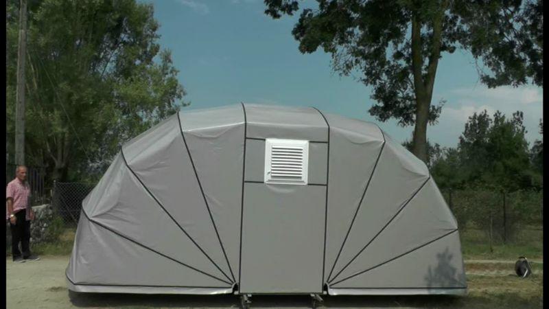 Araç Koruma Brandası Oto Park Çadırı,Yeni Nesil Garaj Tipi Araç Brandası